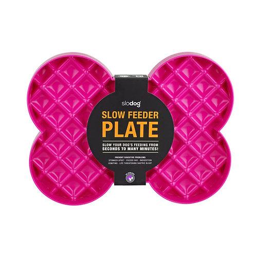 SloDog Bone-Shaped Slow Food Plate