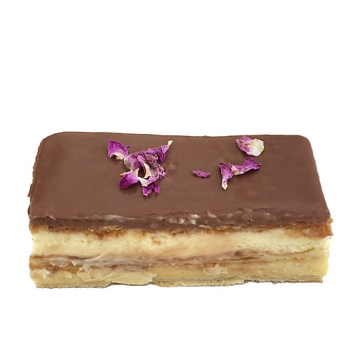Chocolate Vanilla Slices - pack of 6