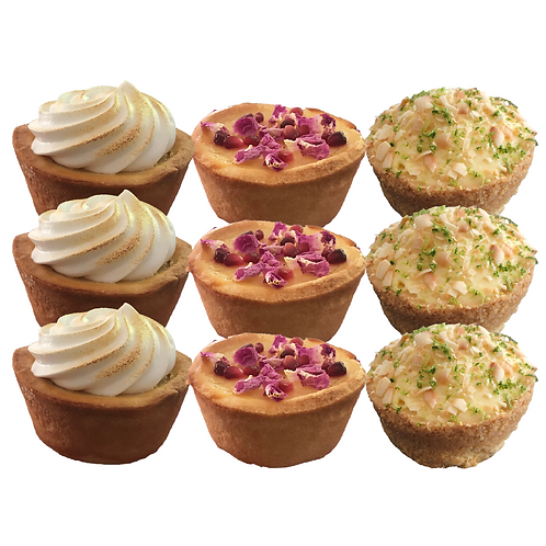 Mixed Tartlet Box - pack of 9