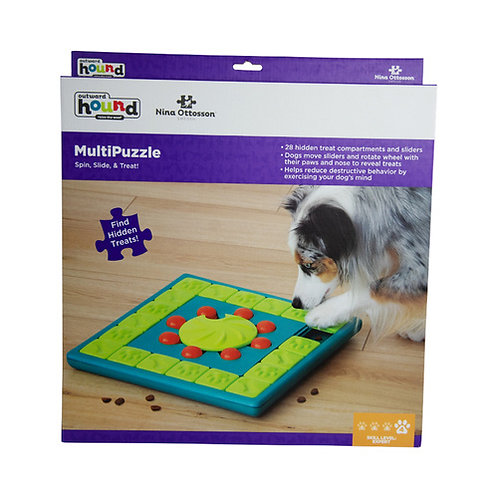 Multipuzzle - Nina Ottosson by Outward Hound - Level Expert!