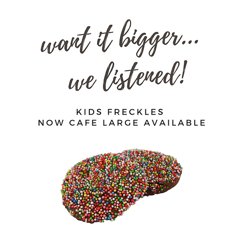 Large Freckle Kids Cookies - pack of 12