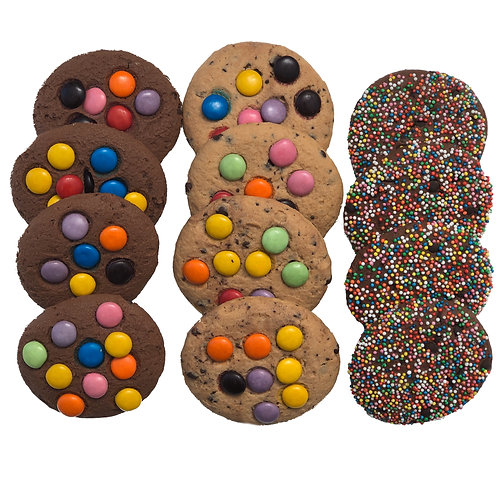 Mixed Pack - Kids Cookies - pack of 12