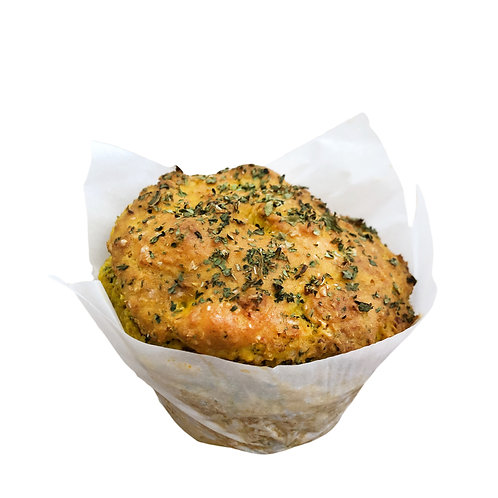 Cheese Onion & Herbs Savoury Muffins - pack of 3