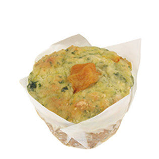 Spinach Feta & Pumpkin Savoury Muffin - pack of 3