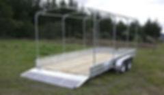 Custom tractor trailer