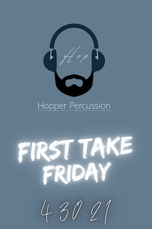 First Take Friday Drum Set Transcription