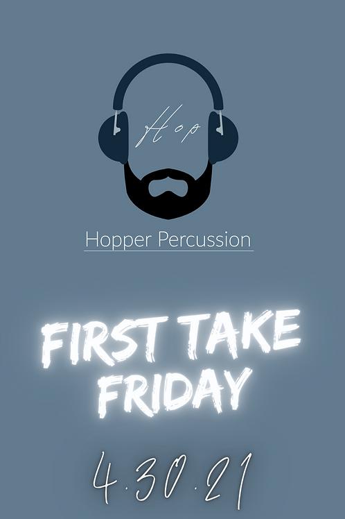 First Take Friday Drum Set Transcription
