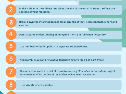 10 tips for more professional emails