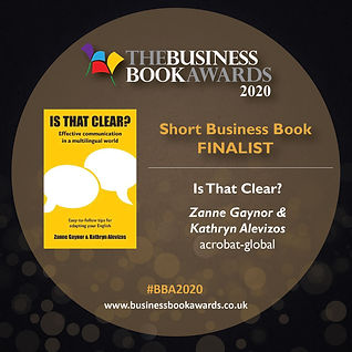 Is That Clear- - Short Business Book (1)
