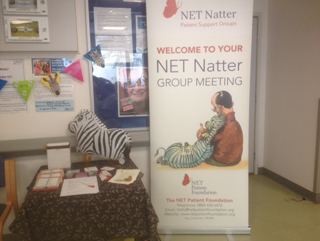 Information Stand at Western General Hospital Edinburgh