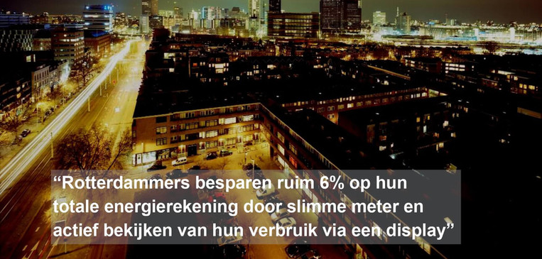 Pilot energiebesparing door gedragsverandering in IJsselmonde