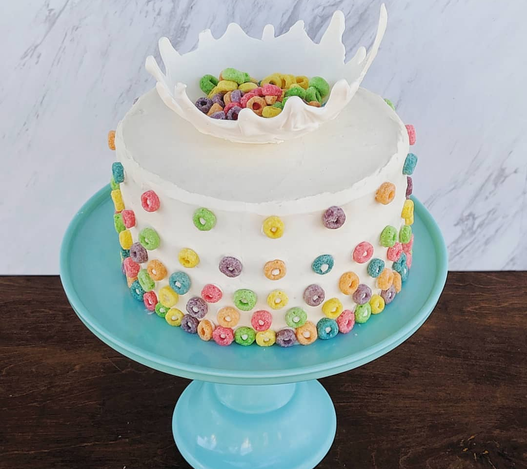 Cereal Milk Cake