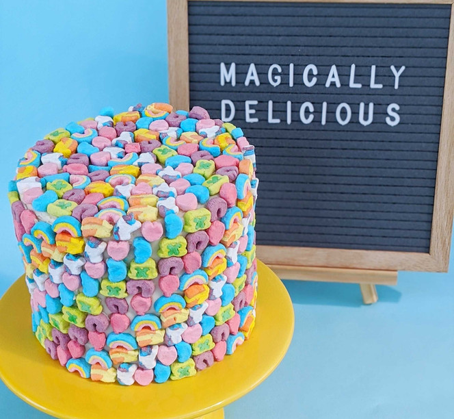 Lucky Charms Cake