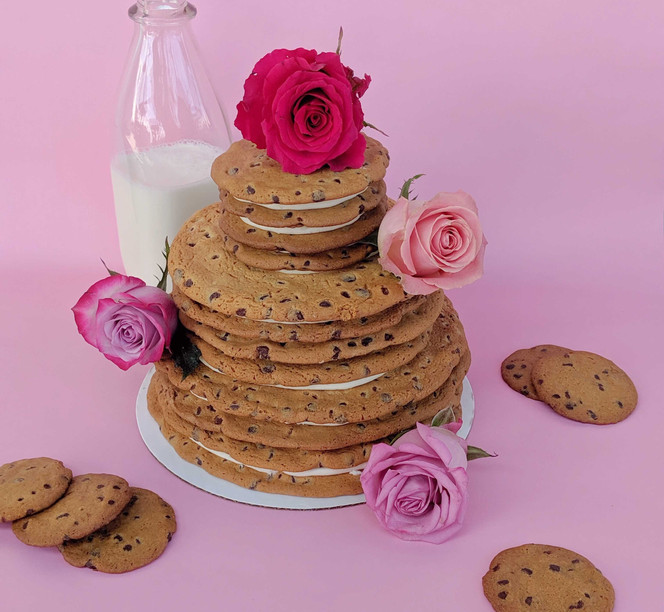 Tiered Cookie Cake