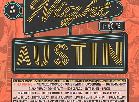 A Night for Austin Livestreaming showcasing some Magnificent Magnatone Artist