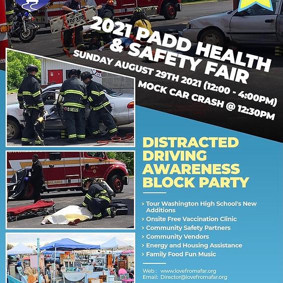 2021 PADD Health & Safety Fair