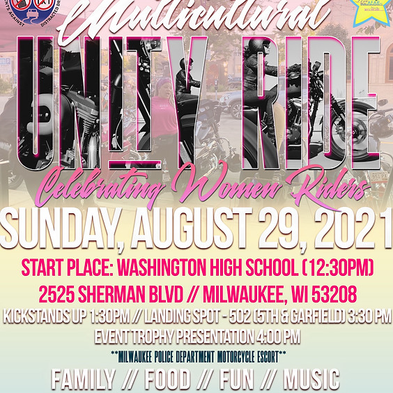 2021 PADD Multicultural Unity Ride & Health & Safety Fair