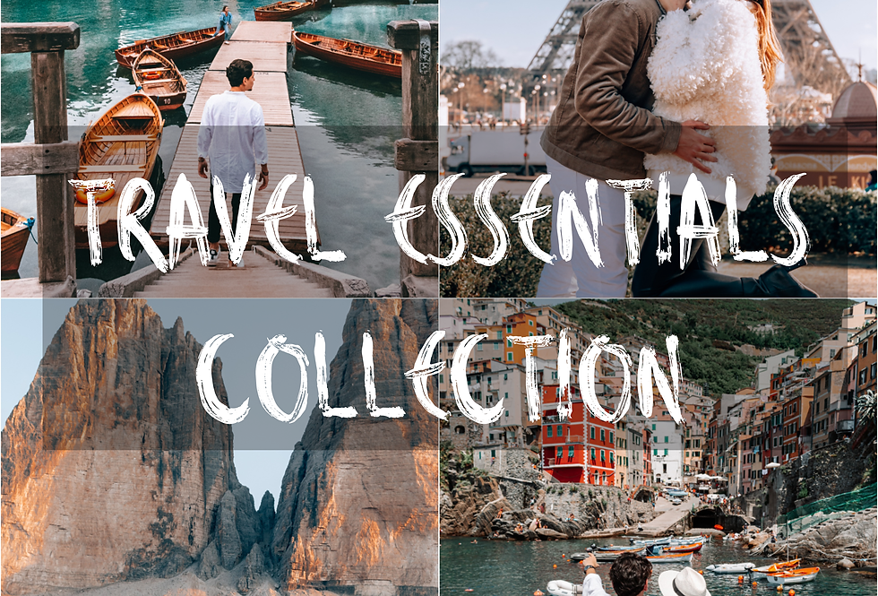 Travel Essentials Collection MOBILE