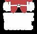Warwick Barbell Logo - Transparent White