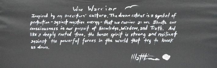 Wise Warrior (back)