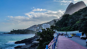 Vidigal Street View- Rio de Janeiro, Brazil