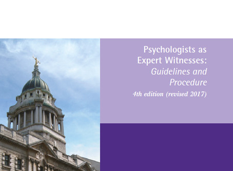 Psychologists as Expert Witnesses: Guidelines and Procedure 4th edition (revised 2017)