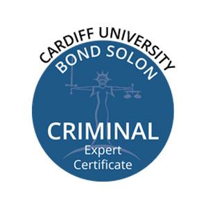 Emma Stevenson achieves Cardiff University Bond Solon Criminal Expert Certificate