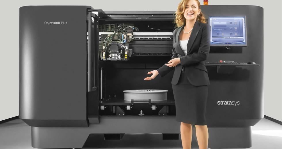 Objet1000 Plus: The world's largest Polyjet 3D printer