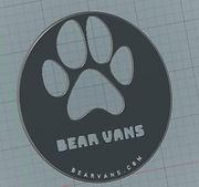 3D Printed Bear Van Logo10 inch.jpg