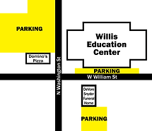 Map-of-Parking-at-Willis-Education-Cente