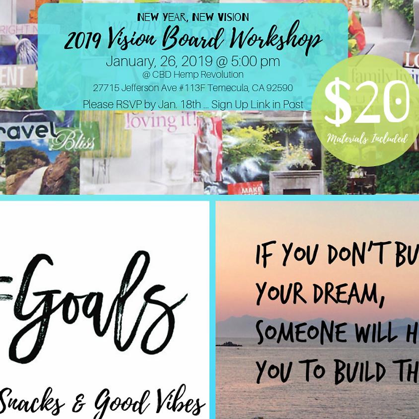 2019 Vision Board Workshop
