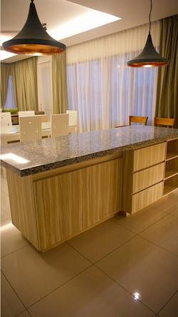 villa setia kitchen island