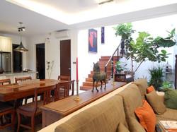 villa setia living and dining