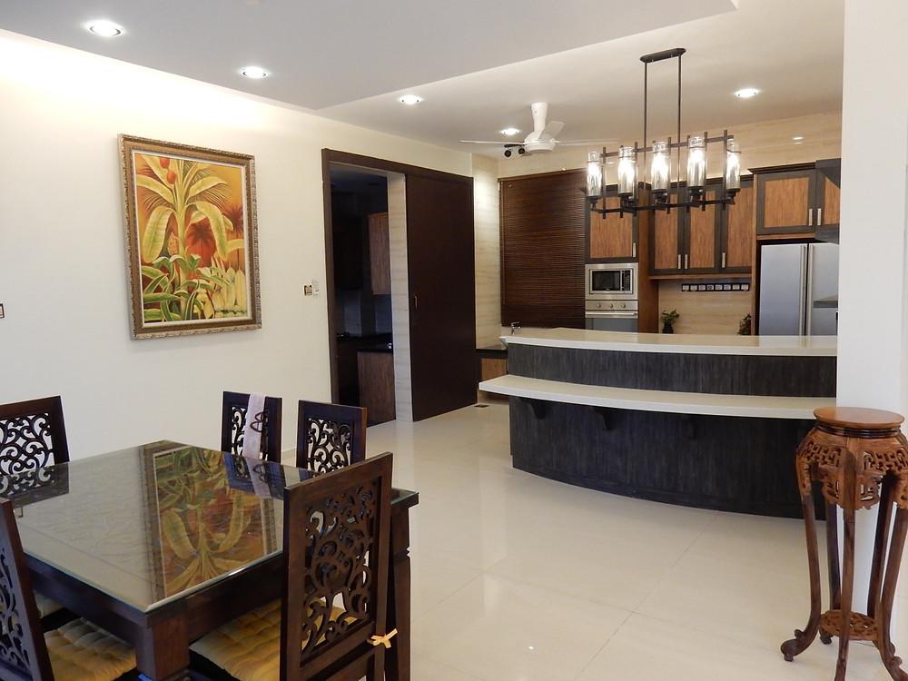 Villa Helang dry kitchen