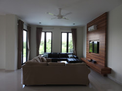 Upstairs family area