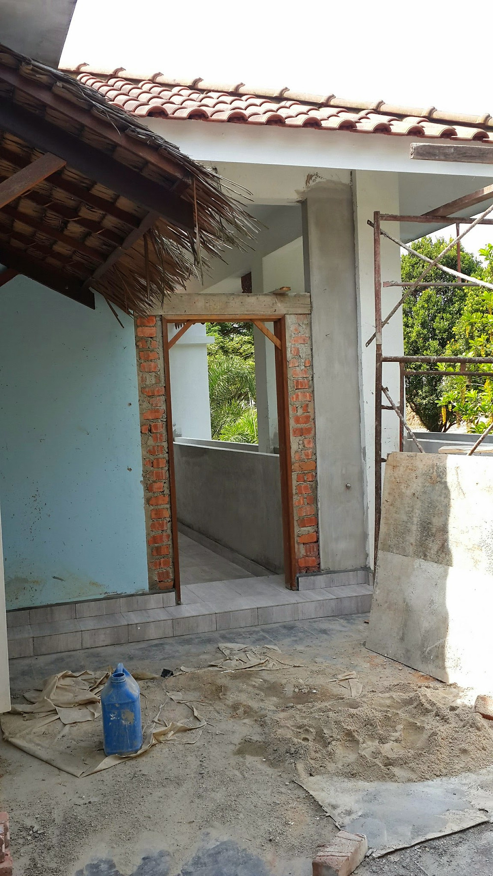 Renovation of Villa Desa, Nusajaya