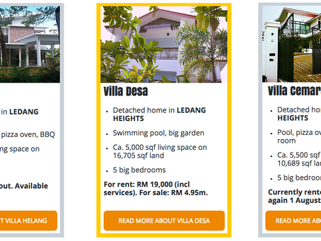 Properties currently available for rent or sale