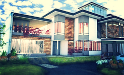 Villa Kipas in Nusajaya