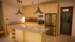villa setia kitchen