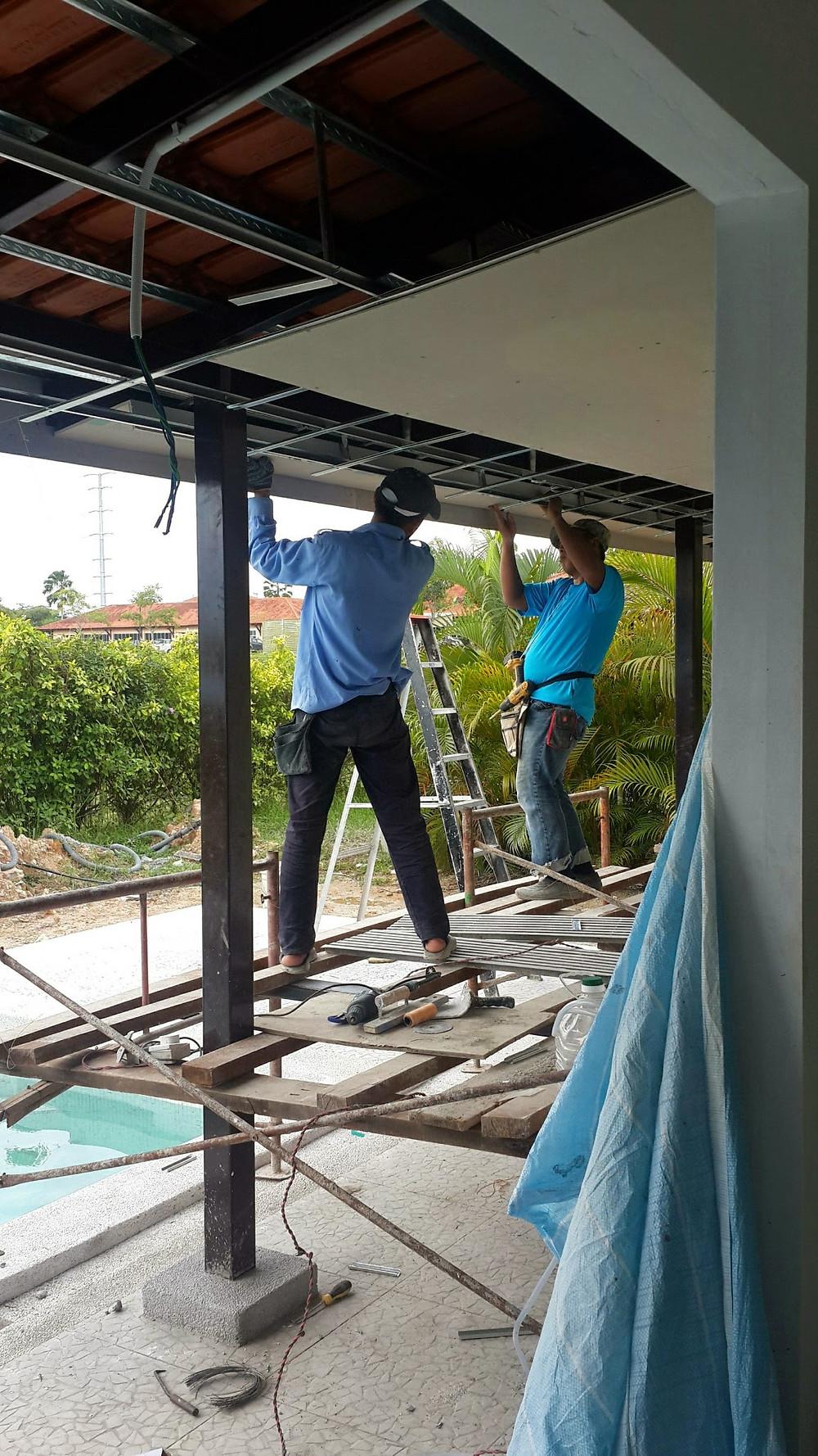 Villa Desa renovation