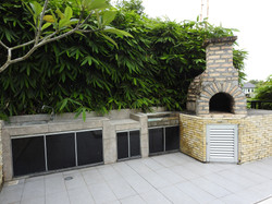 Pizza oven and BBQ