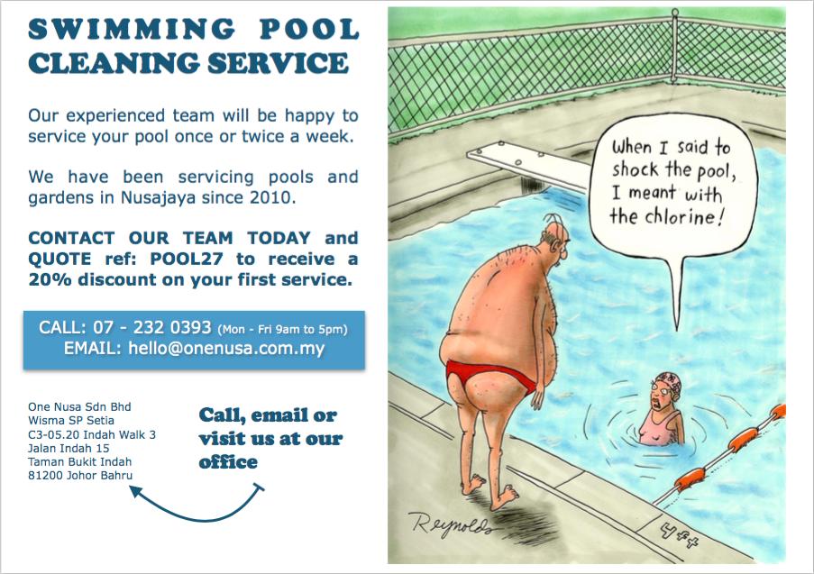pool cleaning nusajaya