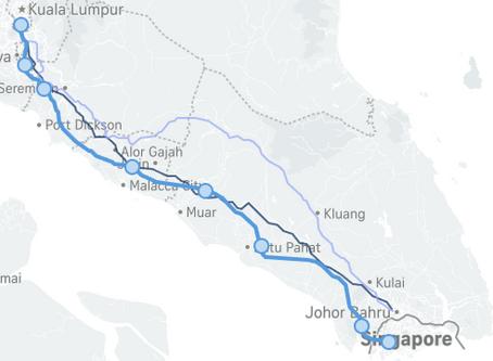 High Speed Rail link KL to SG