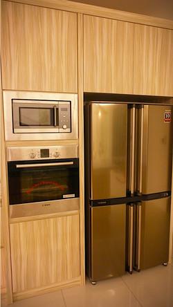 villa setia full sized oven