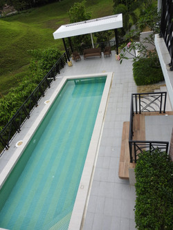 View to pool area