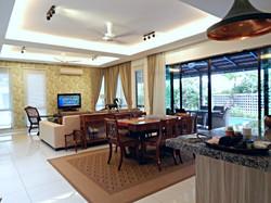 villa setia living room