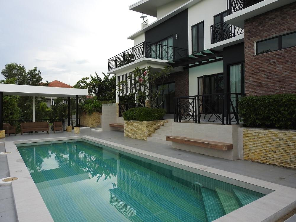 Villa Helang pool area