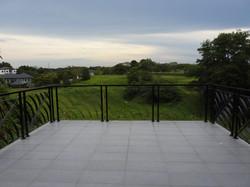 Big upstairs terrace