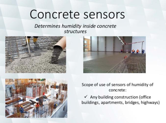 Concrete cable sensors