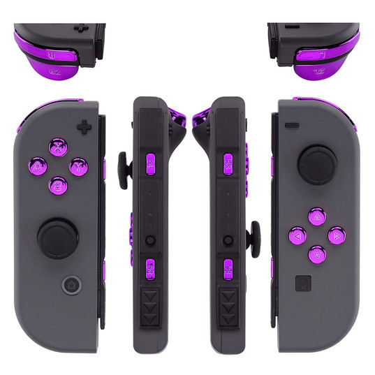 Chrome Purple Buttons